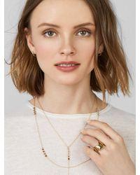 BaubleBar - Metallic Isalina Layered Y-chain Necklace - Lyst