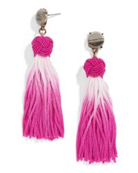 BaubleBar - Multicolor Sarina Tassel Earrings - Lyst