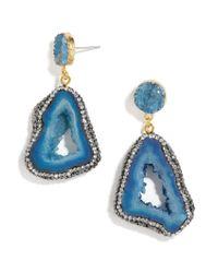 BaubleBar | Moonrock Drops-blue | Lyst