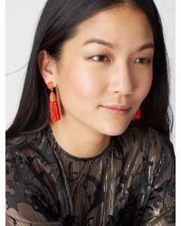 BaubleBar | Red Mini Piñata Tassel Earrings | Lyst
