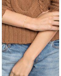 BaubleBar - Metallic Ice Wishbone Bracelet - Lyst