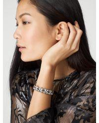 BaubleBar | Blue Vendela Crystal Bracelet | Lyst