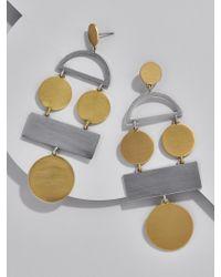 BaubleBar - Metallic Picasso Drop Earrings - Lyst