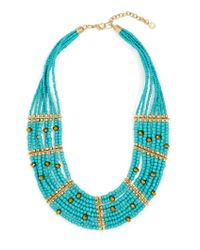 BaubleBar | Blue Briya Necklace | Lyst