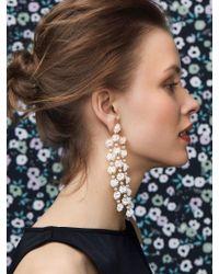 BaubleBar - Metallic Shiori Flower Drop Earrings - Lyst