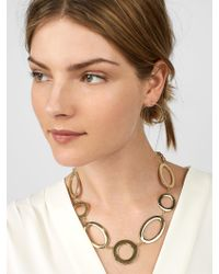 BaubleBar - Multicolor Romona Linked Statement Necklace - Lyst