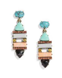 BaubleBar - Multicolor Nazaria Drop Earrings - Lyst