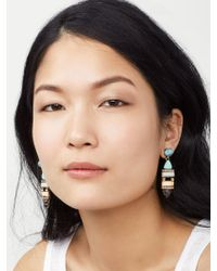 BaubleBar - Multicolor Nazaria Drop Earrings - Lyst