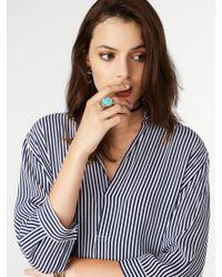BaubleBar - Blue Globetrotter Ring - Lyst
