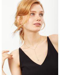 BaubleBar - Metallic Crystal Spike Y-necklace - Lyst