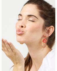 BaubleBar - Multicolor Pucker Up Drop Earrings - Lyst
