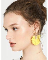 BaubleBar | Yellow Bonita Drop Earrings | Lyst