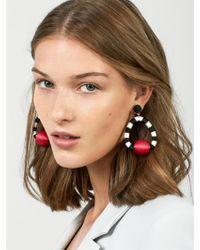 BaubleBar - Multicolor Mariela Hoop Earrings - Lyst