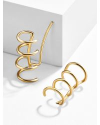 BaubleBar - Multicolor Amo 18k Gold Plated Ear Crawlers - Lyst