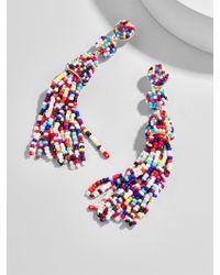 BaubleBar - Multicolor Granita Tassel Earrings-rainbow - Lyst
