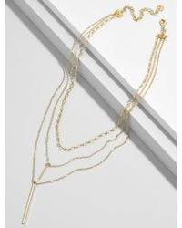 BaubleBar - Multicolor Stelina Layered Y-chain Necklace - Lyst
