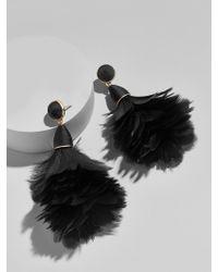 BaubleBar - Multicolor Parisian Feather Earrings - Lyst
