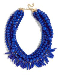 BaubleBar - Blue Malibu Statement Necklace - Lyst