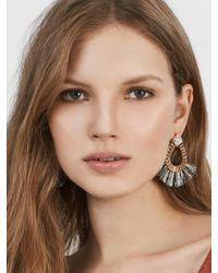BaubleBar | Black Ashira Fringe Earrings | Lyst