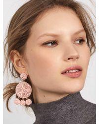 BaubleBar - Black Maraca Drop Earrings - Lyst