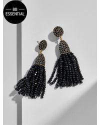 BaubleBar - Black Mini Gem Piã±ata Tassel Drops - Lyst