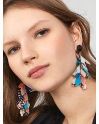 BaubleBar - Multicolor Mottled Feather Earrings - Lyst