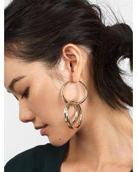 BaubleBar - Multicolor Rianne Hoop Earrings - Lyst