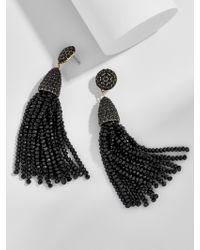 BaubleBar - Black Gem Piñata Tassel Drops - Lyst