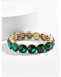 BaubleBar - Green Cosette Bracelet - Lyst