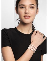 BaubleBar - Multicolor Double Ladder Cuff - Lyst