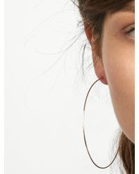 BaubleBar - Metallic Patrice Hoop Earrings - Lyst