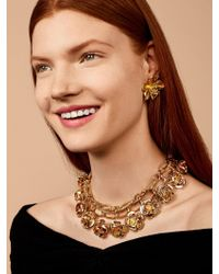 BaubleBar - Multicolor Buttercup Flower Statement Necklace - Lyst