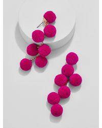 BaubleBar - Pink Canary Pom Pom Drop Earrings - Lyst