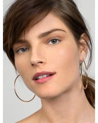BaubleBar - Metallic Large Joelle Hoop Earrings - Lyst