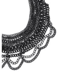 BaubleBar - Black The Courtney Bib - Lyst