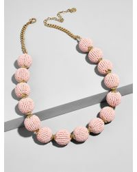 BaubleBar - Multicolor Beaded Ball Statement Necklace - Lyst