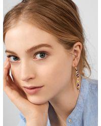 BaubleBar - Red Cait Drop Earrings - Lyst