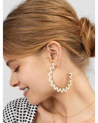 BaubleBar - Multicolor Mariza Hoop Earrings - Lyst