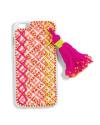 BaubleBar - Multicolor Neon Tassel Iphone Case - Lyst