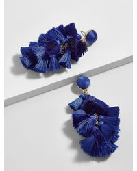 BaubleBar - Blue Contessa Tassel Earrings - Lyst