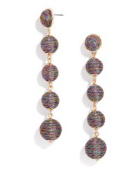 BaubleBar | Multicolor Eva Ball Drop Earrings | Lyst