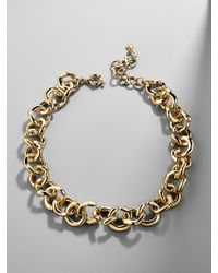 BaubleBar - Multicolor Maryelle Linked Statement Necklace - Lyst