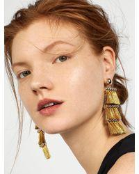 BaubleBar - Multicolor Malaya Tassel Earrings - Lyst