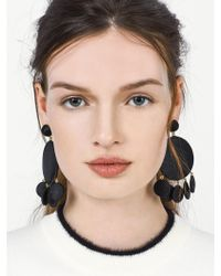 BaubleBar - Black Sundial Drop Earrings - Lyst