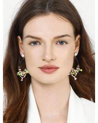 BaubleBar - Multicolor Merengue Hoop Earrings-blush - Lyst