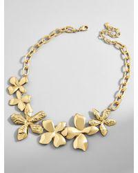 BaubleBar - Multicolor Windflower Statement Necklace - Lyst