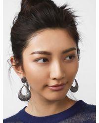 BaubleBar - Multicolor Davia Hoop Earrings - Lyst