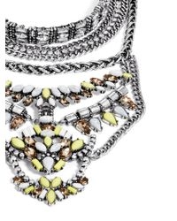BaubleBar - Yellow Morgause Warrior Bib - Lyst