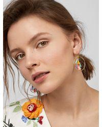 BaubleBar - Multicolor Primina Hoop Earrings - Lyst