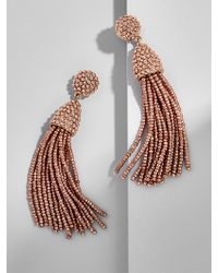 BaubleBar - Metallic Piñata Tassel Earrings - Lyst